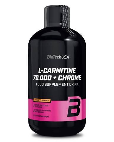BioTech USA BioTech L-Carnitine 70.000 + Chrome 500 ml variant: pomaranč