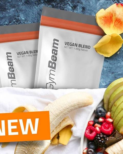 GymBeam Vegan Blend - GymBeam 1000 g Banana
