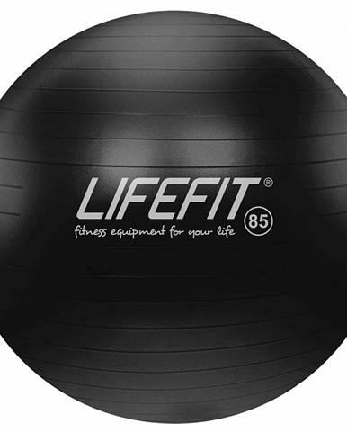 Gymnastický míč LIFEFIT ANTI-BURST 85 cm, černý