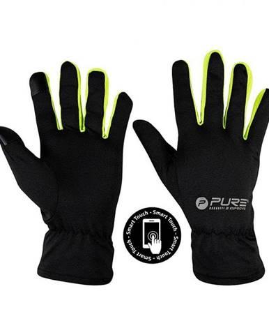 Běžecké rukavice Purre2Improve S/M žlutá