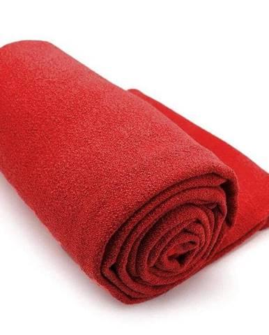Ručník na YOGU LiveUp LS3752 183X63cm - Červený