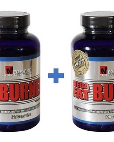 1+1 Zadarmo: Mega Fat Burner - Mega-Pro Nutrition 120 kaps. + 120 kaps.