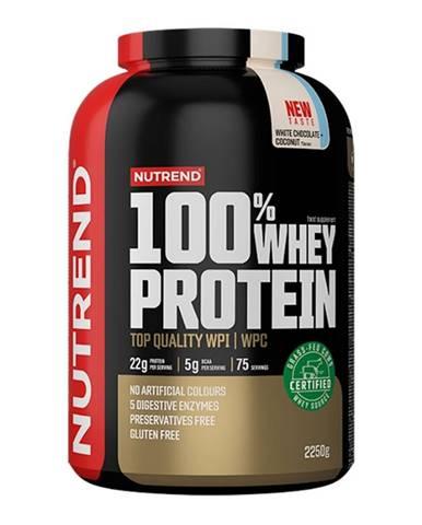 Nutrend 100% Whey Protein 2250 g jahoda