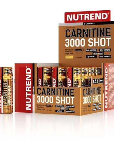 NUTREND Carnitine 3000 SHOT 60 ml pomaranč