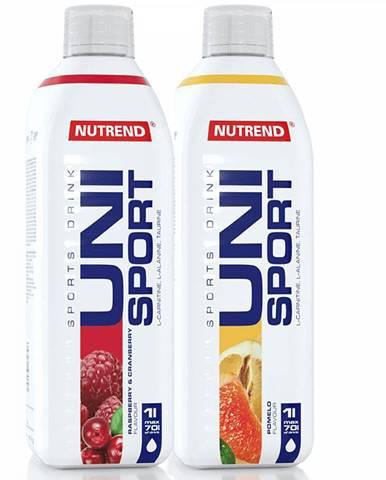 Nutrend Unisport 1000 ml ružový grapefruit