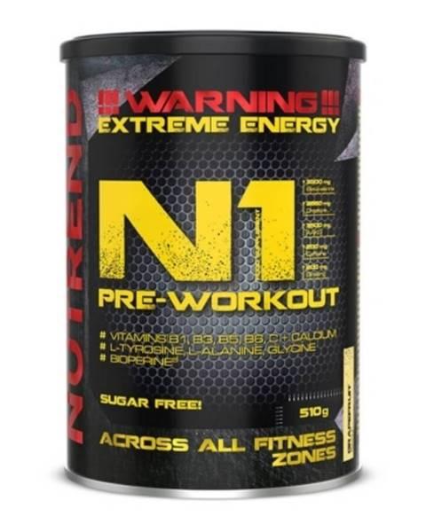 Nutrend NUTREND N1 Pre-Workout 510 g modrá malina