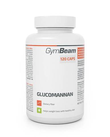 GymBeam Glukomanán 120 tab.