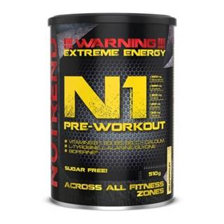 NUTREND N1 Pre-Workout 510 g modrá malina