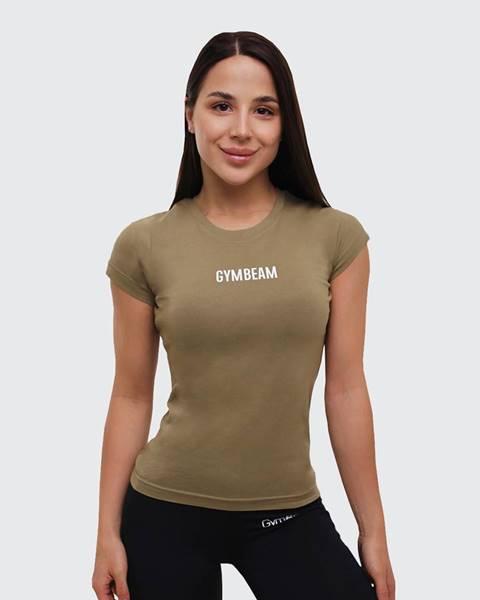 GymBeam GymBeam Dámske tričko FIT Olive  S