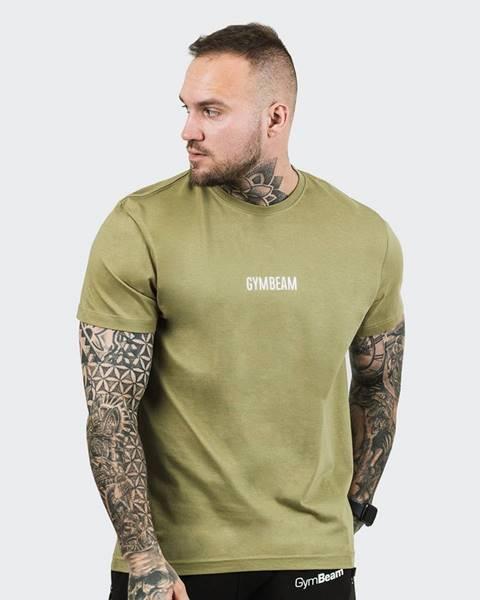 GymBeam GymBeam Tričko FIT Olive  S
