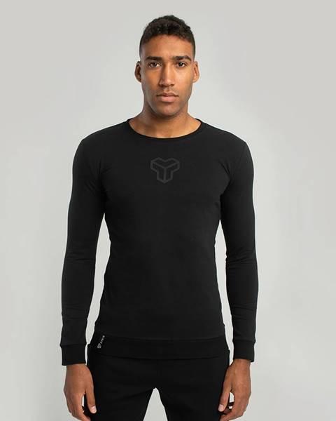 STRIX STRIX Tričko s dlhým rukávom Essential Black  S