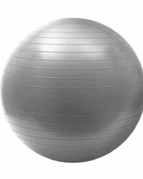 HMS Gymnastický míč HMS YB02 75 cm šedo-stříbrný