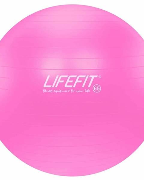 Lifefit Gymnastický míč LIFEFIT ANTI-BURST 65 cm, růžový