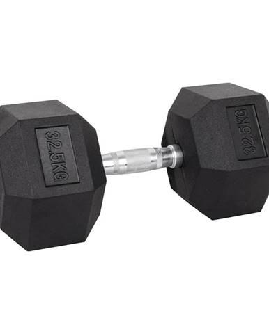 Šesťhranná činka inSPORTline Hexsteel 32,5 kg