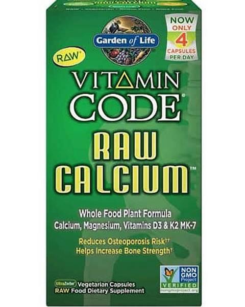Garden of life Garden of Life Vápník - RAW Vitamin Code - 60 kapslí