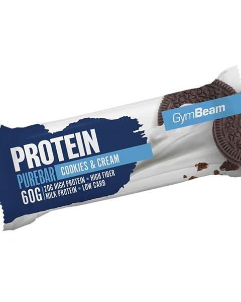 GymBeam GymBeam Protein PureBar 60 g dvojnásobné kúsky čokolády