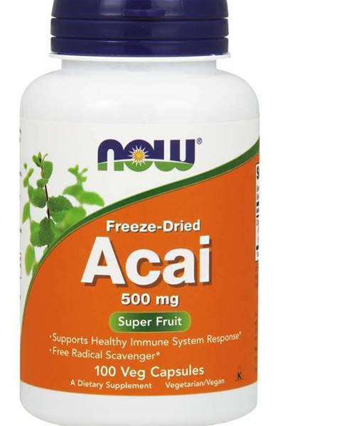 NOW Foods NOW Foods Acai 500 mg 100 kaps.