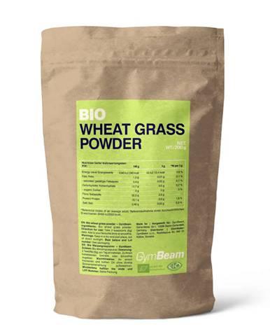 GymBeam BIO Pšeničná tráva v prášku 200 g