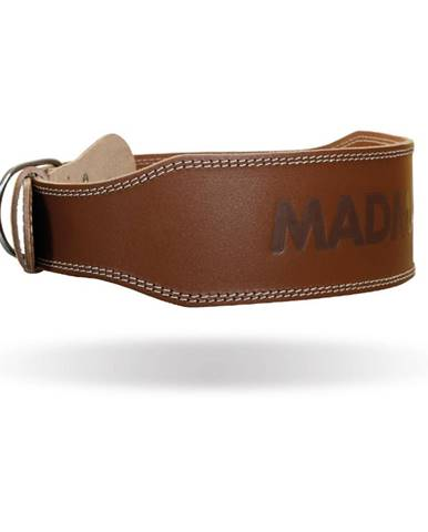MADMAX Fitness opasok Full Leather Chocolate Brown  M