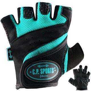 C.P. Sports Fitness rukavice tyrkysové  XS