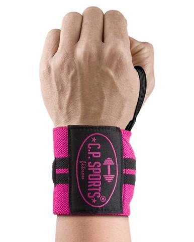 C.P. Sports Bandáž na zápästia ružová