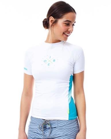Dámske tričko pre vodné športy Jobe Rashguard biela - S