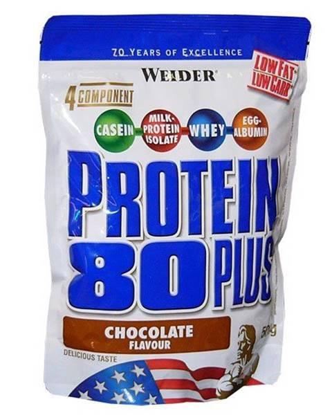 Weider Protein 80 Plus - Weider 500 g Banán