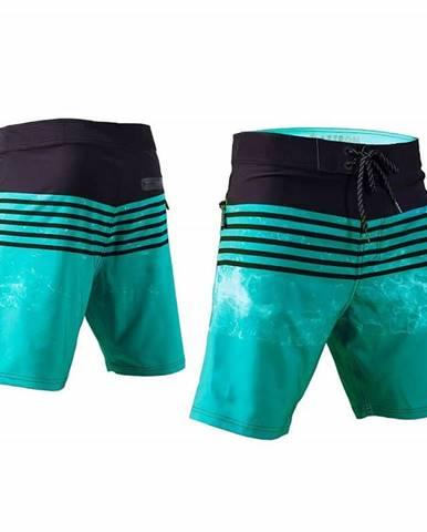 Pánske kraťasy Aztron Wave Farba modro-čierna, Veľkosť XL