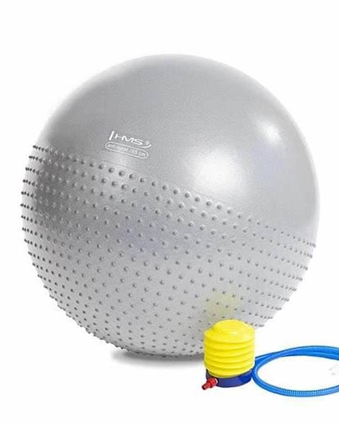 HMS Masážní gymnastický míč HMS YB03 65 cm světle šedý