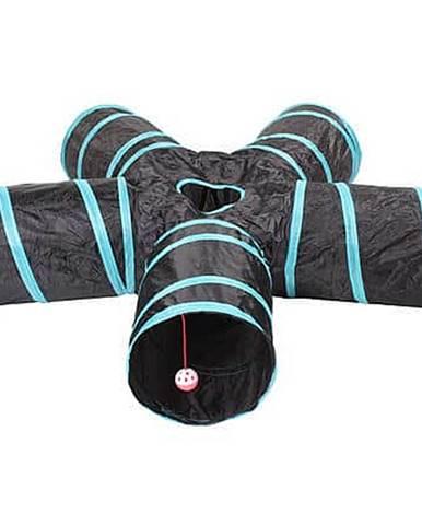 Five-way agility tunel černá-modrá