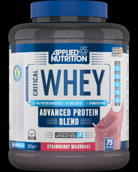 Applied Nutrition Applied Nutrition Critical Whey 2270 g banánový milkshake