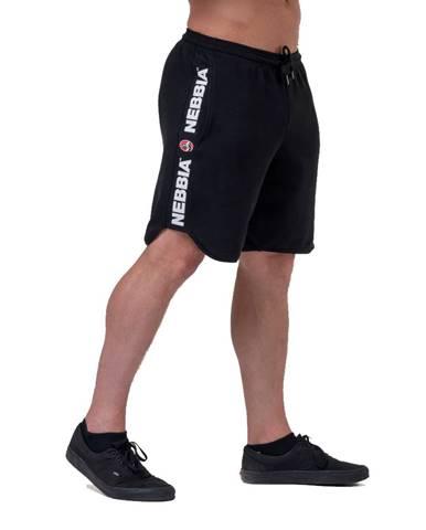Pánske šortky Nebbia Legend Approved 195 Black - M