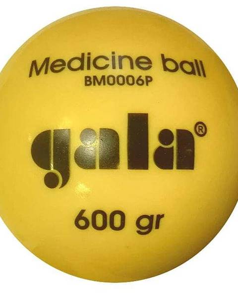 Gala Míč medicinbal plastový 0,6 kg Gala