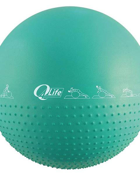 Sedco Gymnastický míč MASÁŽNÍ Sedco 65 cm - Zelená
