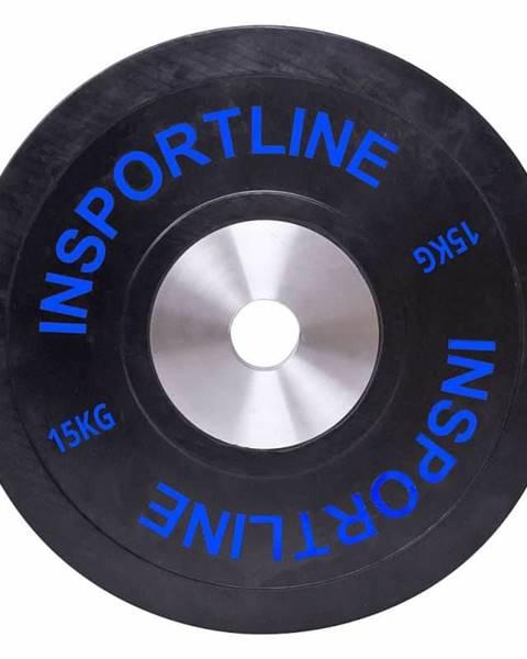 Insportline inSPORTline Gumový kotouč inSPORTline Bumper Plate 15 kg