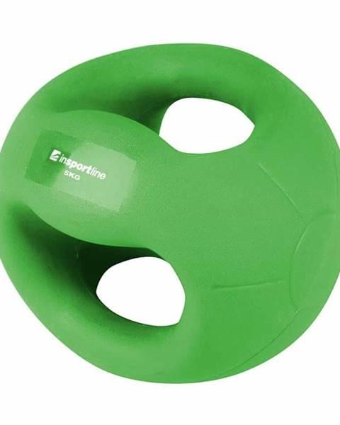 Insportline Medicinbal s úchopmi inSPORTline Grab Me 5 kg