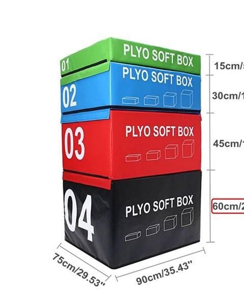 Sedco SOFT PLYOBOX SEDCO 90x75x15-60 cm - Černá