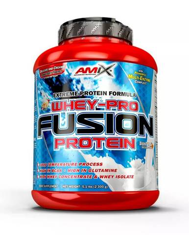 AMIX Whey Pure Fusion 2300 g čokoláda