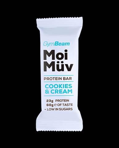 Gymbeam Proteínová tyčinka MoiMüv 60 g cookies & krém