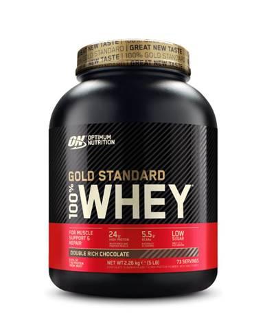 Optimum Nutrition 100 Whey Gold Standard 2270 g karamelový fondán