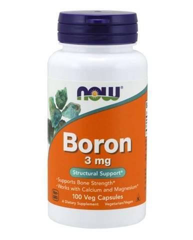 NOW Foods Boron 3 mg 100 kaps.