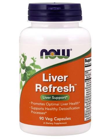 NOW Foods Podpora pečene Liver refresh 90 kaps.