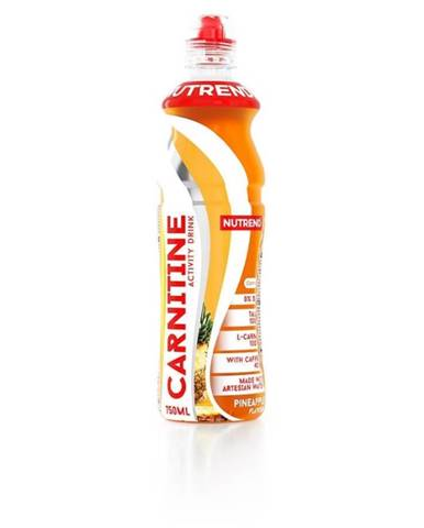 NUTREND Carnitine Activity Drink s kofeínom 750 ml ananás