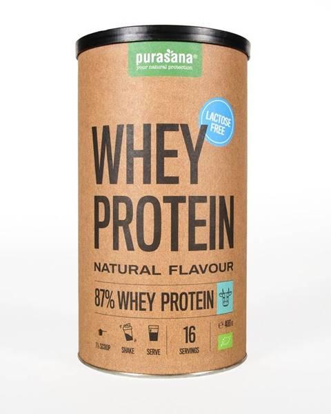 Purasana Purasana Whey Protein Lactose Free BIO 400 g prírodná chuť