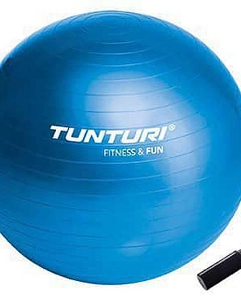 Tunturi Gymnastický míč 65cm s pumpičkou,modrý