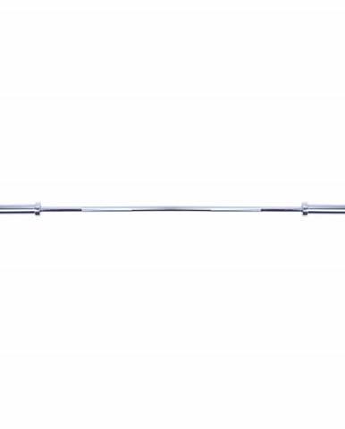 Vzpieračská tyč inSPORTline OLYMPIC - rovná 200cm OB-80 do 300KG