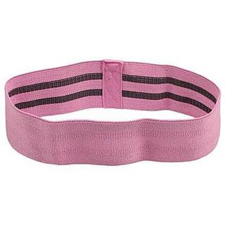 Yoga Hip Band odporový pás růžová