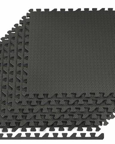 Podložka pod posilovací stroje 6ks 60 x 60 x 1,2 cm černá
