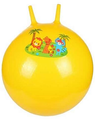 Hom Jump skákací gymnastický míč žlutá Průměr: 65 cm