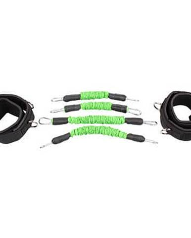 Leg Trainer Set odporové gumy sada zelená